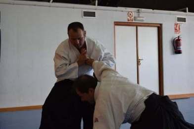 20160220 clase conjunta grupos Aikido Aikikai San Vicente - Universidad de Alicante y Dojo San Vicente - 008