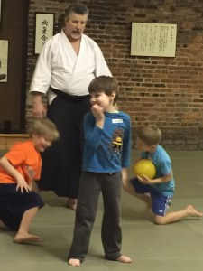 Aikido Kids, Joe Montague, teacher