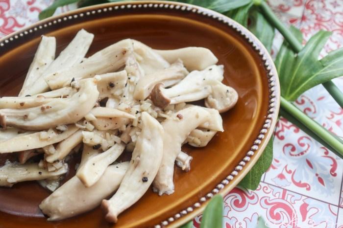 【中式料理】椒鹽杏鮑菇。