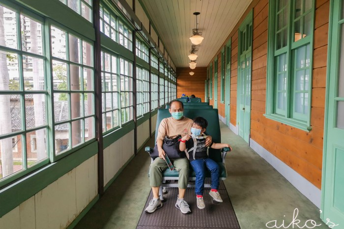 【台北大同】親子必訪景點~國立臺灣博物館鐵道部園區,孩子會愛翻的室內景點。