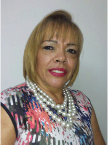 Nidia Alcaraz, presidenta de Asmetrosalud