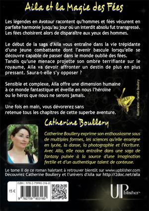 Salon du livre de Sartrouville 2012  Catherine Boullery  fantasy jeunes