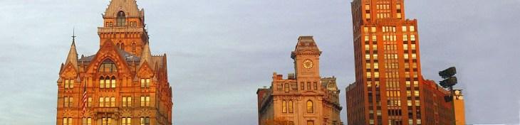 Clinton Square in Downtown Syracuse, NY via wikipedia