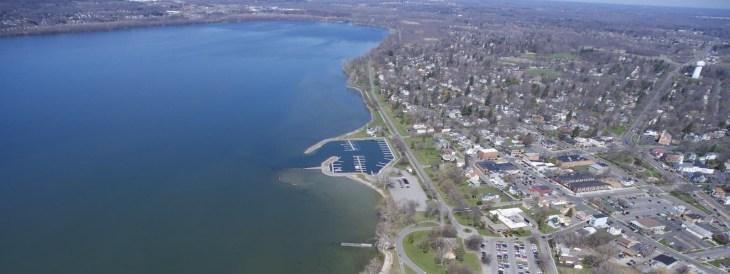 Onondaga Lake East Shoreline. Photo Courtesy of Indigenous Values Initiative