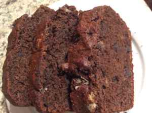 Whole Wheat Double Chocolate Banana Bread