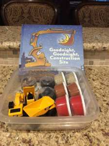Good Night, Good Night Construction Site Play Dough Set