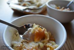 "I make this peach cobbler recipe every year and have even made it with frozen peaches in winter to get my ""fix"". Ha!"