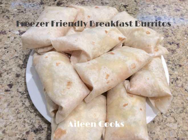 Freezer Friendly Breakfast Burritos | Aileen Cooks