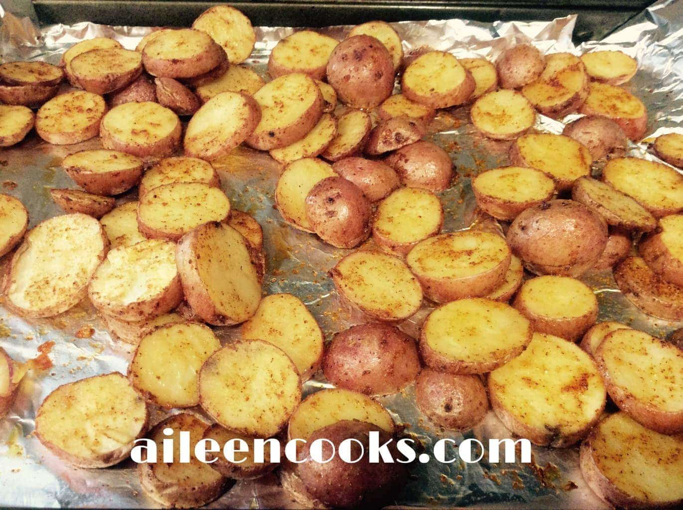 Zesty Potatoes | Aileen Cooks