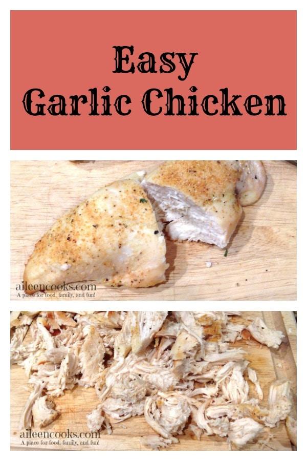 Easy Garlic Chicken 6