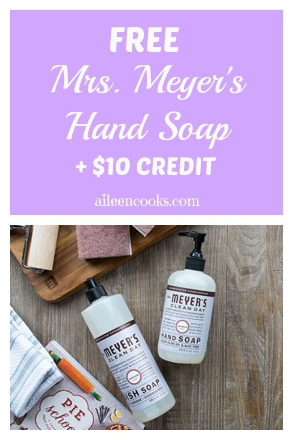 Free Mrs. Meyers Hand Soap + $10 Credit to Grove Collaborative