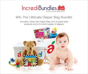 Ultimate Diaper Bag Giveaway from Aileen Cooks and IncrediBundles