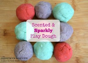 Sparkly & Scented Play Dough