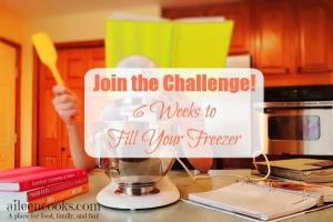 Freezer Cooking Challenge: 6 Weeks to Fill Your Freezer