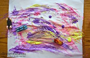 Painting With Cars + $100 Babies 'R Us Giveaway