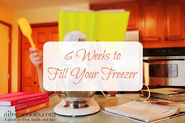 6 Weeks to Fill Your Freezer Week 4. This week's freezer meals include freezer friendly lasagna and freezer friendly zucchini bread. http:/aileencooks.com