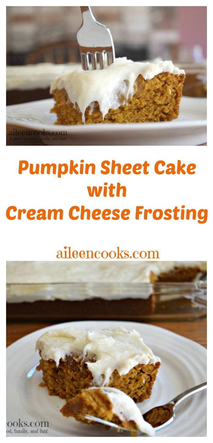 pumpkin sheet cake i gave up on laundry detergent aileen cooks 6861