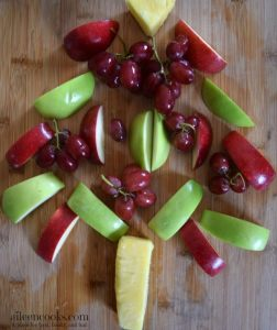 Healthy Christmas Tree Fruit Platter