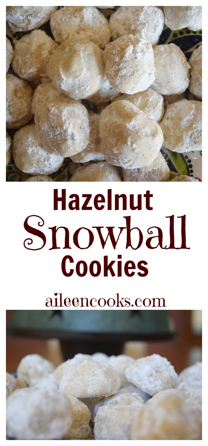 Hazelnut Snowball Cookies Often Times Called Mexican Wedding Or Russian Tea Cakes Are