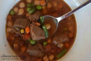Instant Pot Vegetable Beef Soup