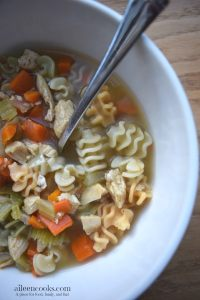 Cooking With Kids: Colorful Chicken Noodle Soup