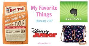 My Favorite Things – February 2017