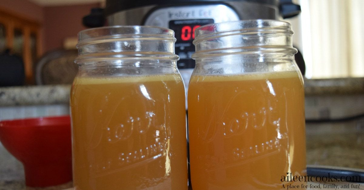 Quick and Healthy Instant Pot Chicken Stock