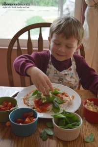 Cooking With Kids: Colorful Pita Pizzas
