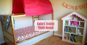 Katie's Toddler Room Reveal