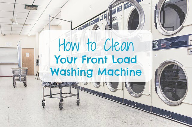 How to clean a front load HE (high Efficiency) washing machine