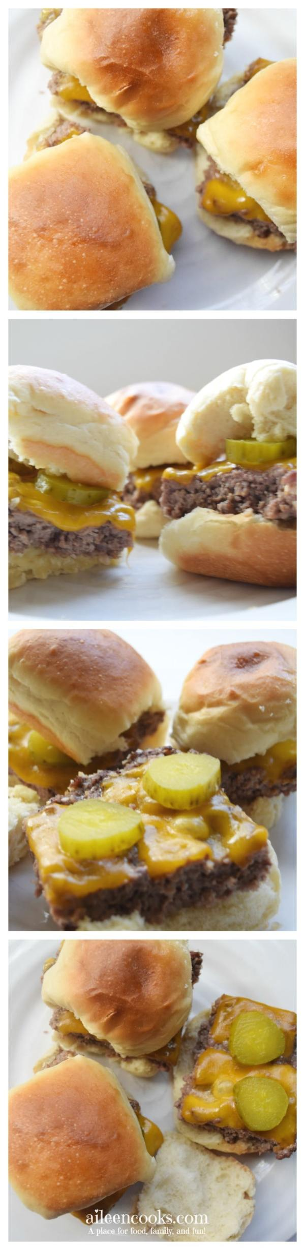 Skip the grill with these easy cheeseburger sliders. They are flavorful and comforting. The best news? They will be ready in 30 minutes!