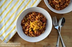 This Instant Pot Goulash was a huge hit with my family! It cooks in just 5 minutes in the instant pot and it is SO GOOD. It's like hamburger helper - but better!