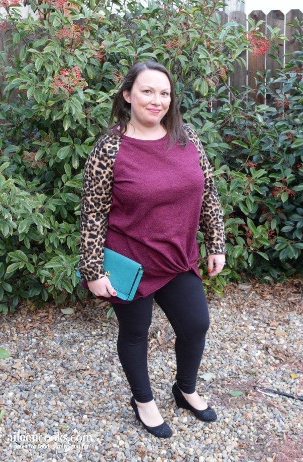 holiday style with pink blush