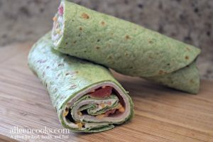 Turkey Cream Cheese Roll Ups