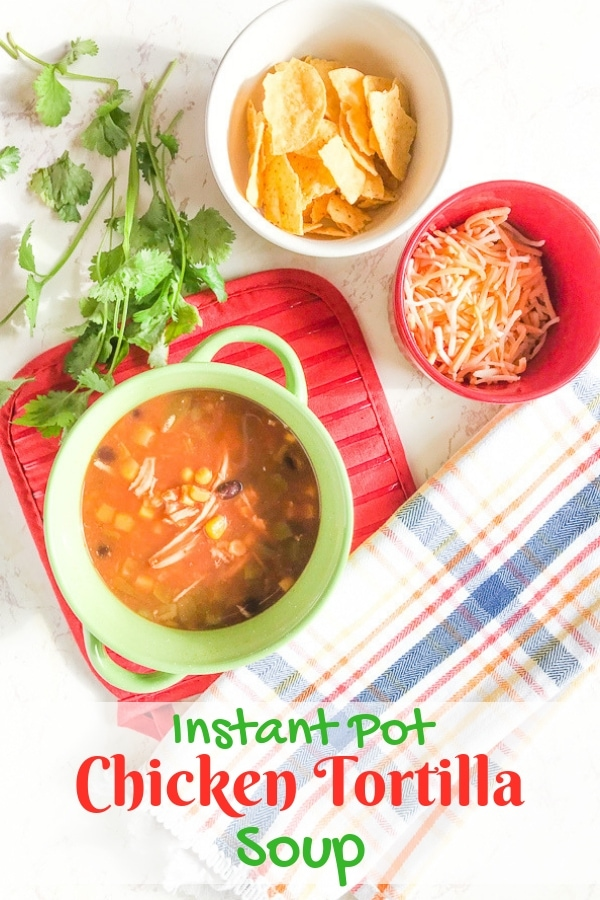 Want to whip up a batch of zesty soup but don't have much time? Try this delicious instant pot chicken tortilla soup recipe. You can even use frozen chicken!
