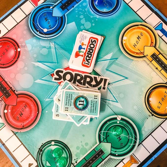 Sorry game board.