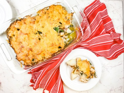Cheesy Ranch Chicken and Potato Casserole