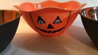 Halloween Treat Bowl Trio