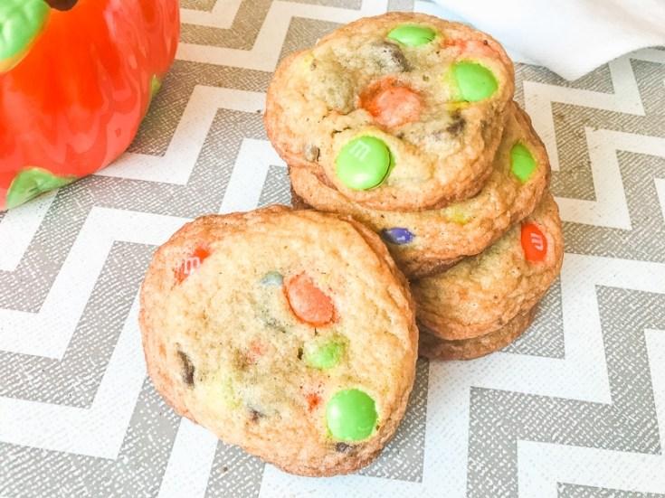 Halloween Chocolate Chip Cookies