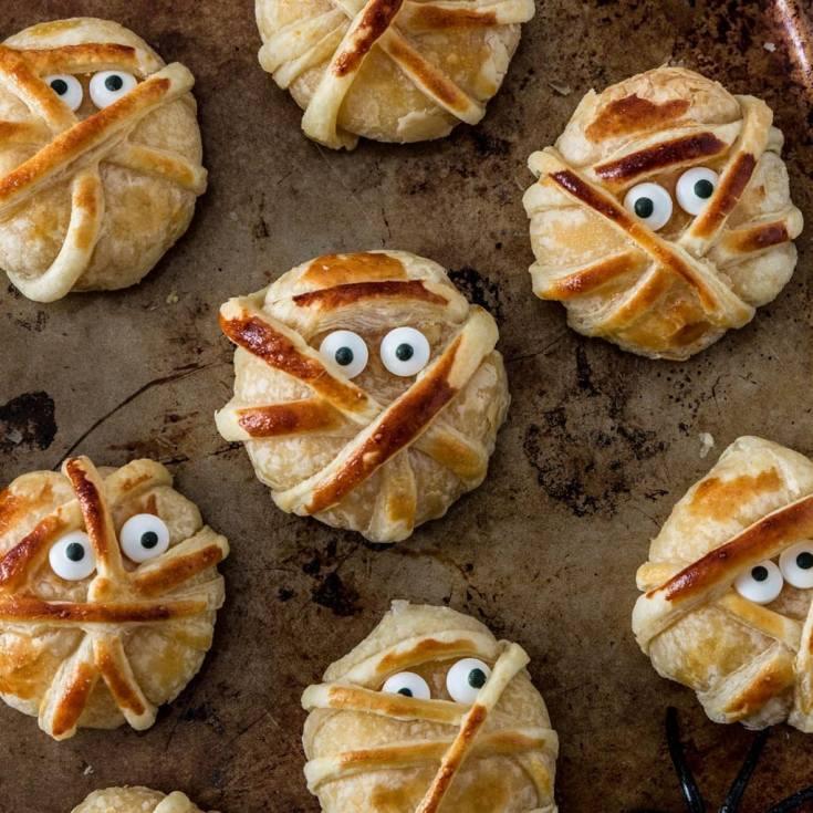 Baked Cheese Mummies