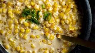 Instant Pot Homemade Creamed Corn Recipe