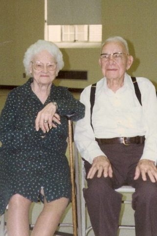 Grandmama and Granddaddy, 9-7-89