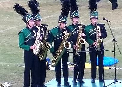 Marching Band Saxophone Quintet