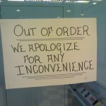 Inconvenience, not Tragedy