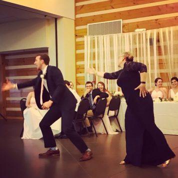 veggietales mother groom dance