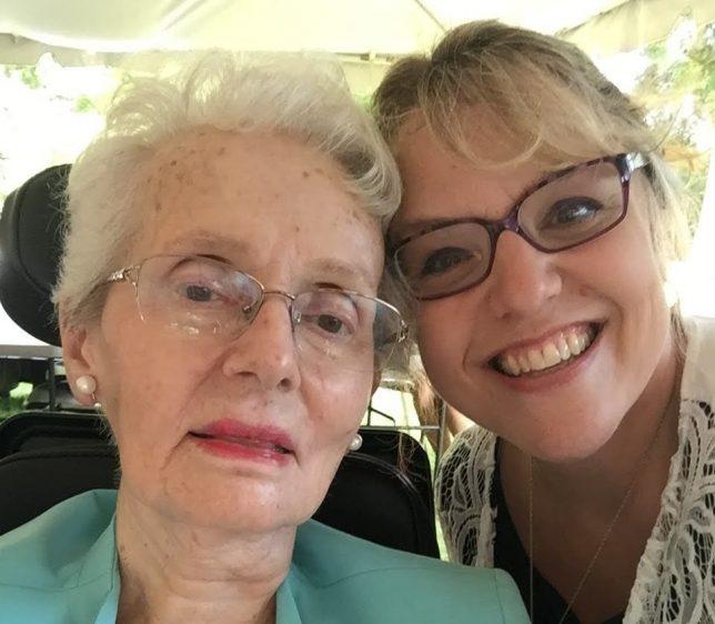 Joyce and Aileen June 17, 2017