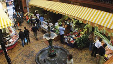 The English Market in Cork city