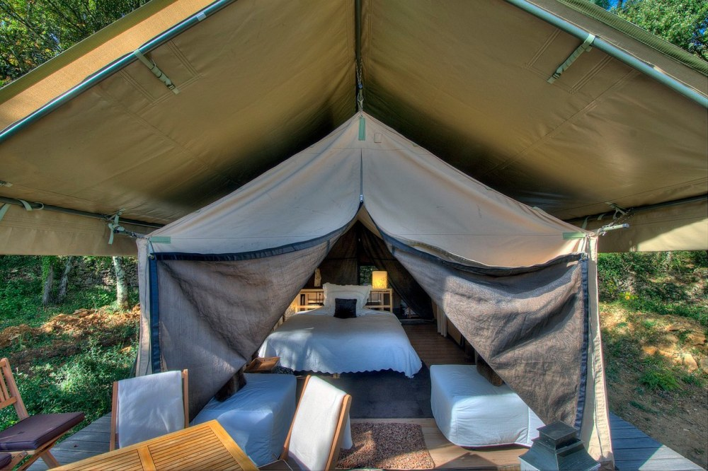 Cool Canvas tents in Provence