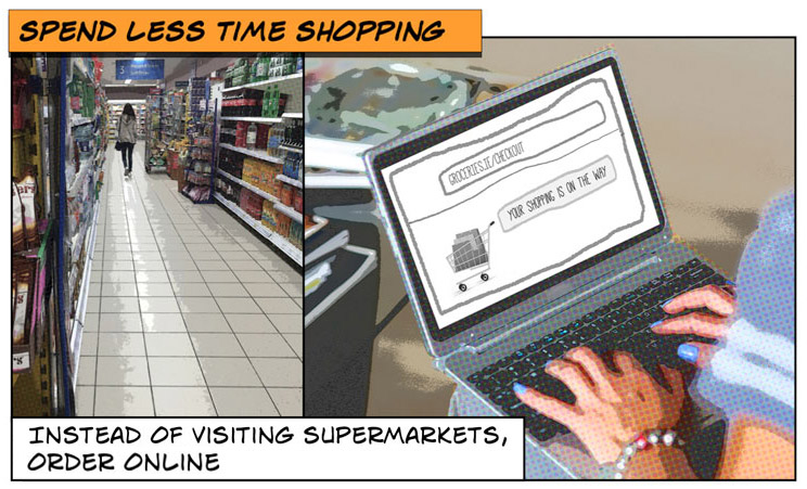 shop online to avoid supermarkets