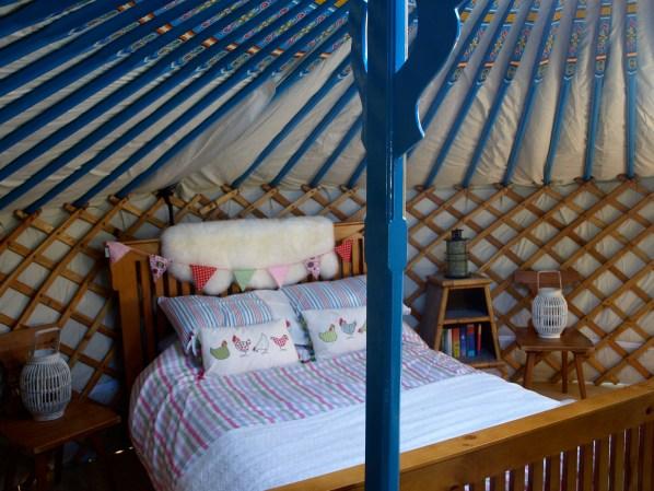 Adorable yurt of Teapot Lane